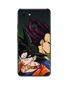 Dragon Ball Z Goku & Vegeta Google Pixel 3 XL Skin
