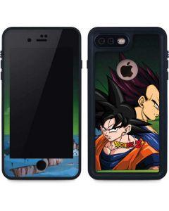 Dragon Ball Z Goku & Vegeta iPhone 8 Plus Waterproof Case