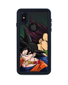 Dragon Ball Z Goku & Vegeta iPhone X Waterproof Case