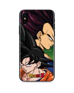 Dragon Ball Z Goku & Vegeta iPhone XS Skin