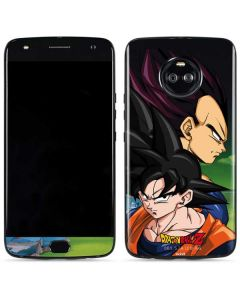 Dragon Ball Z Goku & Vegeta Moto X4 Skin