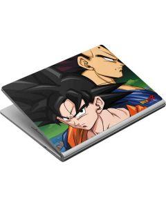 Dragon Ball Z Goku & Vegeta Surface Book Skin