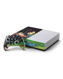 Dragon Ball Z Goku & Vegeta Xbox One S Console and Controller Bundle Skin