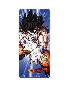 Dragon Ball Z Goku Blast Galaxy Note 8 Skin