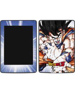 Dragon Ball Z Goku Blast Amazon Kindle Skin