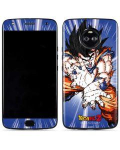 Dragon Ball Z Goku Blast Moto X4 Skin
