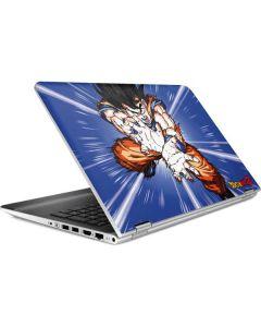 Dragon Ball Z Goku Blast HP Pavilion Skin