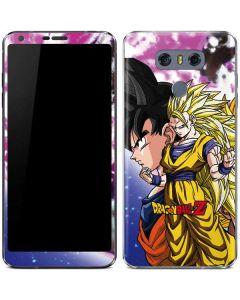 Dragon Ball Z Goku Forms LG G6 Skin