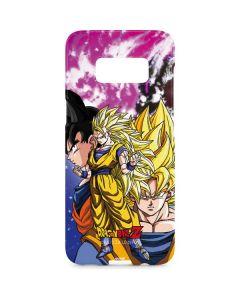 Dragon Ball Z Goku Forms Galaxy S8 Plus Lite Case