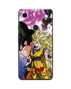 Dragon Ball Z Goku Forms Google Pixel 3 XL Skin