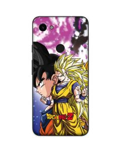 Dragon Ball Z Goku Forms Google Pixel 3a Skin
