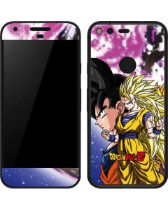 Dragon Ball Z Goku Forms Google Pixel Skin