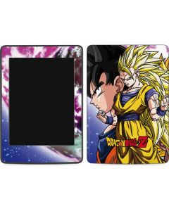Dragon Ball Z Goku Forms Amazon Kindle Skin