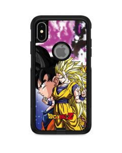 Dragon Ball Z Goku Forms Otterbox Commuter iPhone Skin