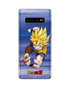 Dragon Ball Z Goku Galaxy S10 Plus Skin