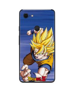 Dragon Ball Z Goku Google Pixel 3 XL Skin