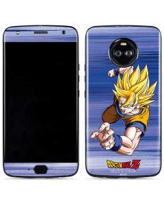Dragon Ball Z Goku Moto X4 Skin