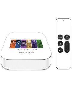Dragon Ball Z Monochrome Apple TV Skin