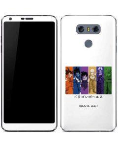 Dragon Ball Z Monochrome LG G6 Skin