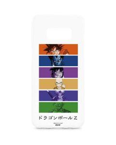 Dragon Ball Z Monochrome Galaxy S8 Plus Lite Case