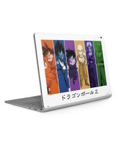 Dragon Ball Z Monochrome Surface Book 2 15in Skin