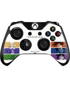 Dragon Ball Z Monochrome Xbox One Controller Skin