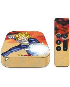 Dragon Ball Z Vegeta Apple TV Skin