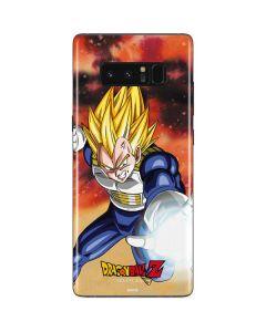 Dragon Ball Z Vegeta Galaxy Note 8 Skin