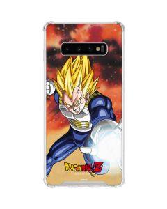 Dragon Ball Z Vegeta Galaxy S10 Plus Clear Case
