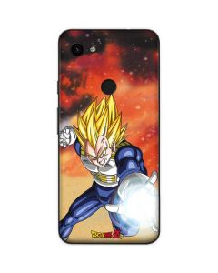 Dragon Ball Z Vegeta Google Pixel 3a Skin