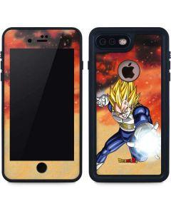 Dragon Ball Z Vegeta iPhone 8 Plus Waterproof Case