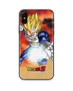 Dragon Ball Z Vegeta iPhone XS Skin