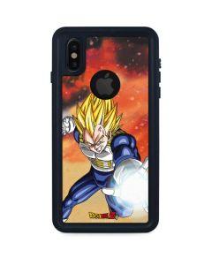 Dragon Ball Z Vegeta iPhone XS Waterproof Case