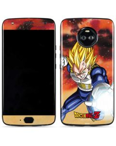 Dragon Ball Z Vegeta Moto X4 Skin