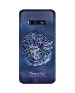 Dragonfly Celtic Knot Galaxy S10e Skin