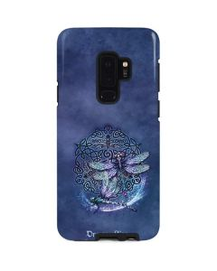 Dragonfly Celtic Knot Galaxy S9 Plus Pro Case