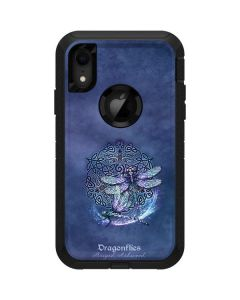 Dragonfly Celtic Knot Otterbox Defender iPhone Skin