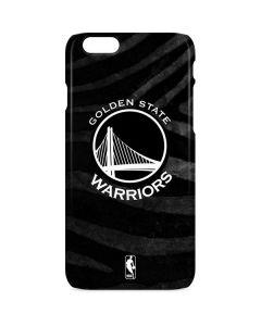 Golden State Warriors Black Animal Print iPhone 6s Lite Case