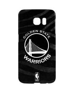 Golden State Warriors Black Animal Print Galaxy S7 Edge Lite Case