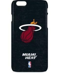 Miami Heat Black Partial Logo iPhone 6s Lite Case