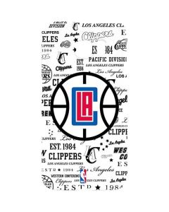 Los Angeles Clippers Blast Logos Galaxy S7 Edge Lite Case