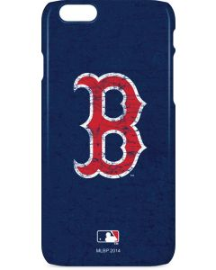 Boston Red Sox - Solid Distressed iPhone 6s Lite Case