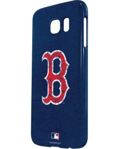 Boston Red Sox - Solid Distressed Galaxy S6 Lite Case