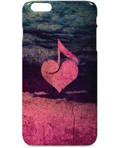 Rustic Musical Heart iPhone 6/6s Plus Lite Case