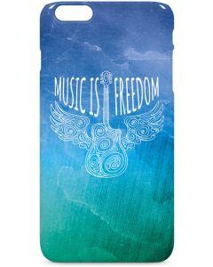 Music Is Freedom iPhone 6/6s Plus Lite Case
