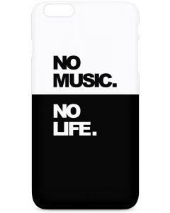 No Music No Life iPhone 6/6s Plus Lite Case