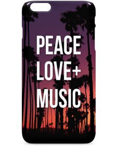 Peace Love And Music iPhone 6/6s Plus Lite Case