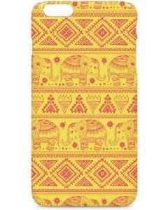 Tribal Elephant Yellow iPhone 6/6s Plus Lite Case
