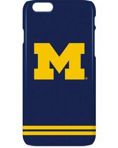 Michigan Logo Striped iPhone 6s Lite Case