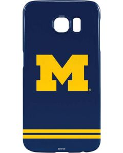 Michigan Logo Striped Galaxy S6 Lite Case